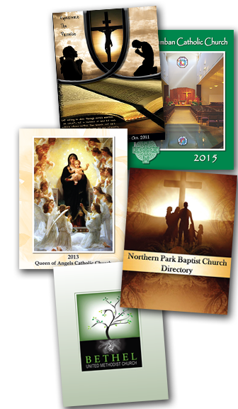 customize your church directory with cover binding options
